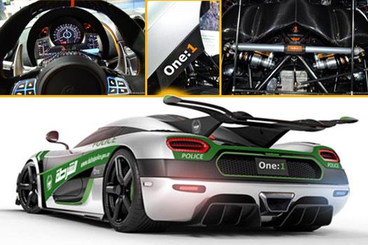 Meet Koenigsegg One Dubai Police Supercar