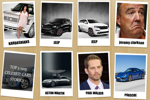 Top 5 2015 Celebrity Car Stories